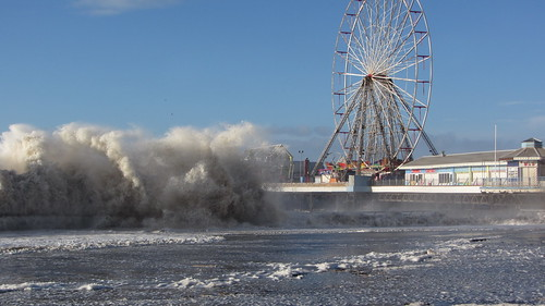 High Tide at Central Pier