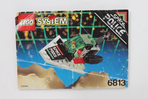 LEGO Space Police II Galactic Chief (6813)