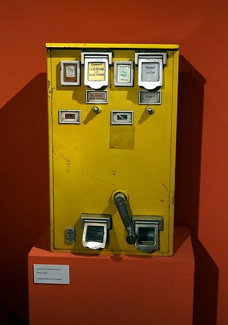 Stadtmuseum Miltenberg Postwertzeichenautomat