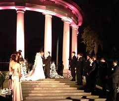 Wedding at the Odenheimer Sea Lion Pool