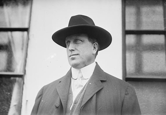 William Randolph Hearst el 8 de octubre de 1910 ©  The Library of Congress of the United States