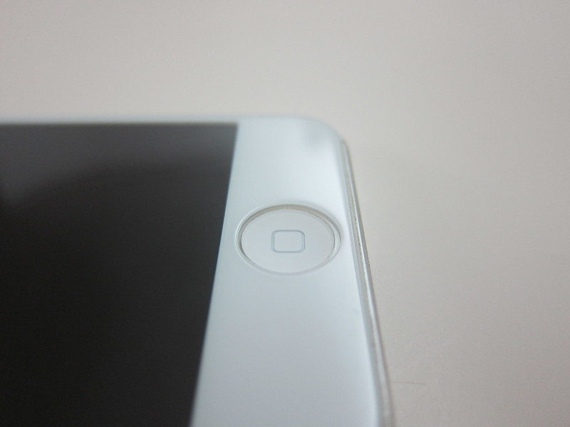 Moshi iVisor Glass - Pasted on iPhone 5