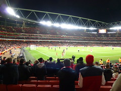An Empty Emirates Stadium
