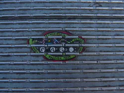 Millennium Bridge Chewing Gum Art by Ben Wilson