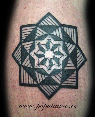 Tatuaje estrella tartesica, Pupa Tattoo, Granada by Marzia PUPA Tattoo