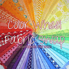 Huge Color Wheel Fabric Swap