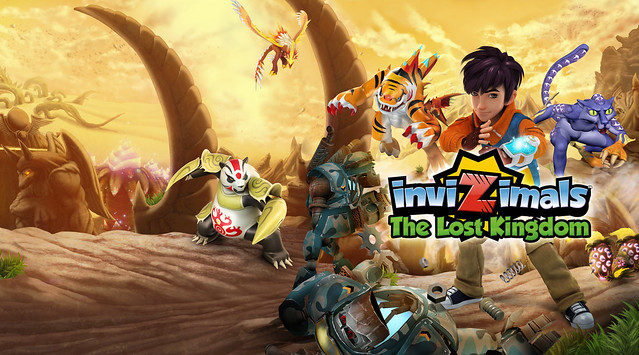 Invizimals: The Lost Kingdom on PS3