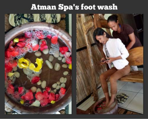 ATMAN SPA FOOT WASH