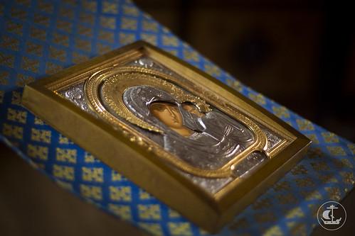 16 февраля 2014 года, Божественная литургия в храме святых равноапостольных Константина и Елены / 16 February 2014, Divine Liturgy in the Church of Saint Constantine and Helena