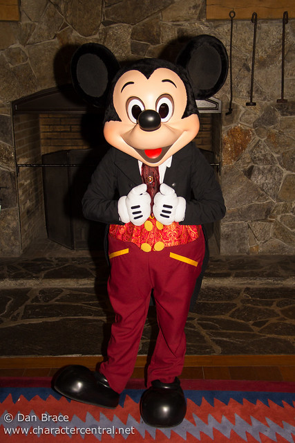 Mickey wears a special outfit for Valentine's Day