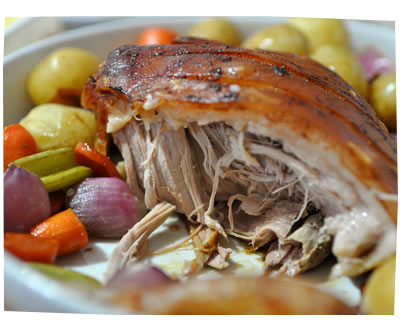 Slow-Cooked, Pulled Pork