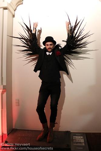 Winged gentleman