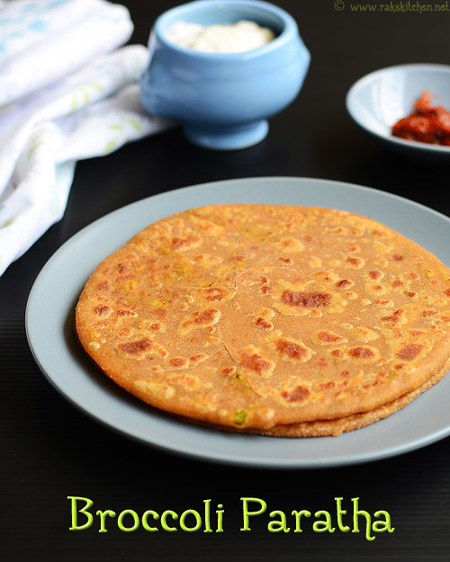 BROCCOLI PARATHA RECIPE | INDIAN BROCCOLI RECIPES