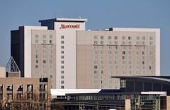 Marriott hotel, downtown Raleigh, NC