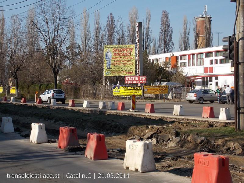 Traseul 102, etapa I: Bucla Nord ( Sp. Județean ) - Intersecție Republicii 13355033445_c2a78c281b_c