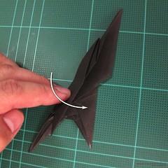 วิธีการพับกระดาษเป็นรูปจิงโจ้ (Origami Kangaroo) 016
