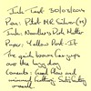 Ink Review Noodler's Dark Matter - Post-it