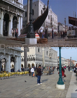 Bond in Venice then and now 3