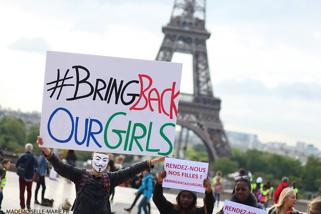 Bring Back Our Girls at Trocadero-4 copie