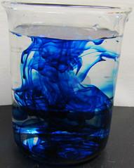 A blue dye