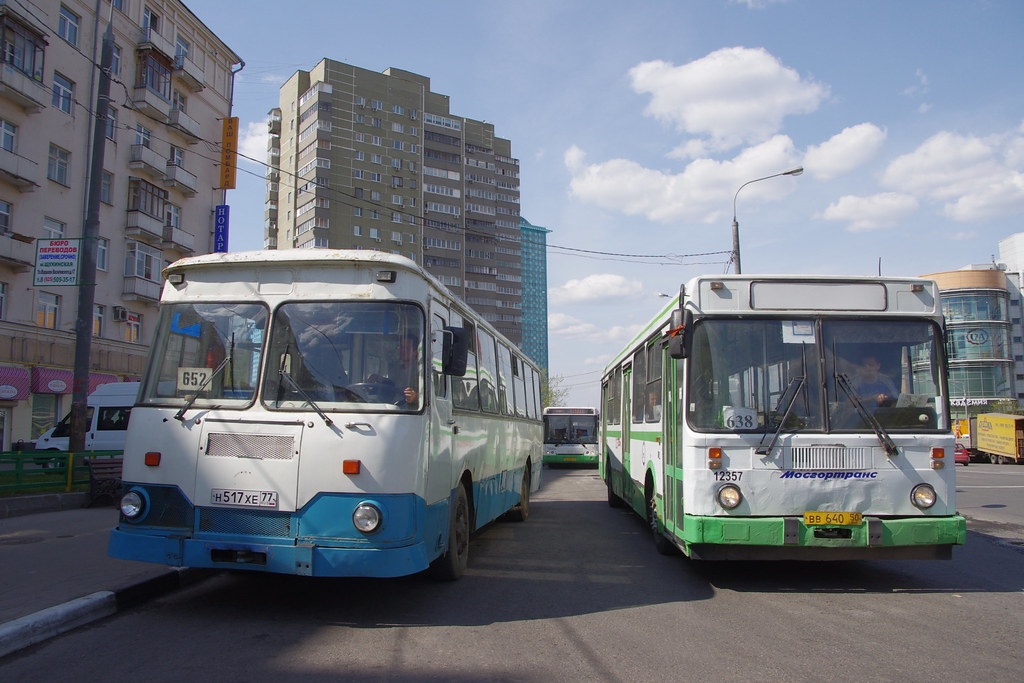 LiAZ-677 Moscow fantrip _20140427_082