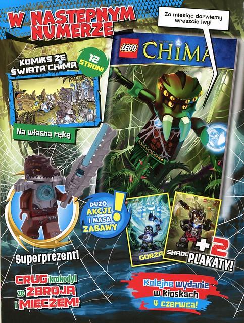 LEGO Legends of Chima Oficjalny Magazyn 2014-05 02
