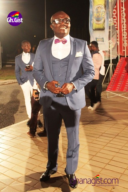 Bola Ray at Ghana Music Awards 2014