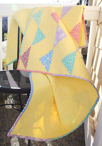 Bunting Baby Quilt