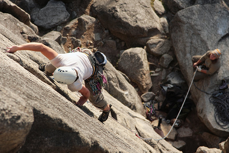 Rock Climbing in Squamish, British Columbia, Canada.