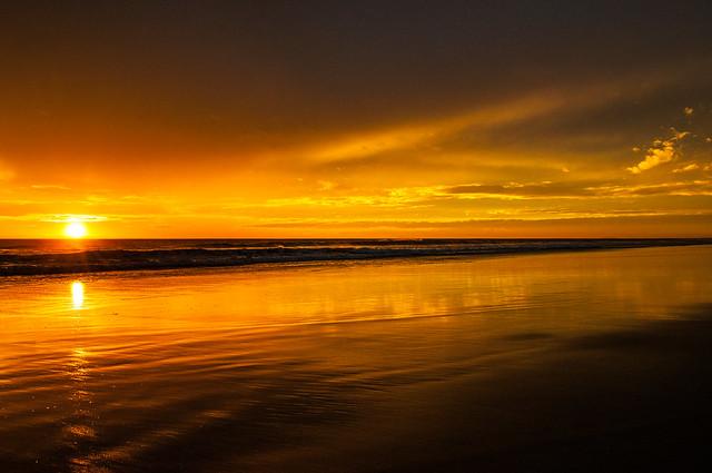 Sunset at Punta Conejo