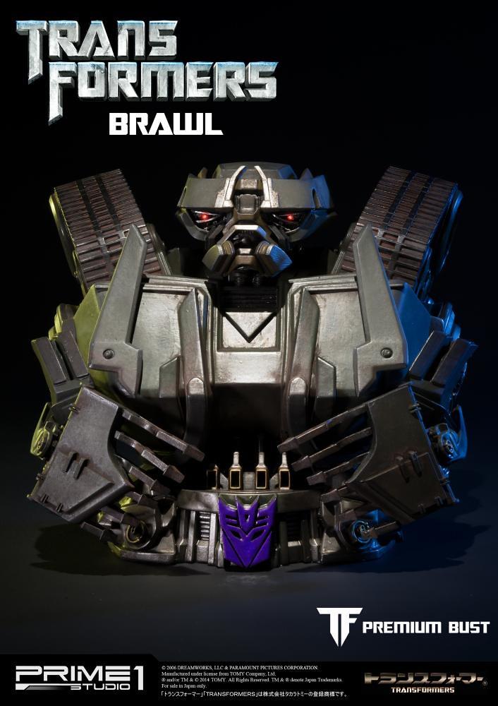Prime 1 Studio 變形金剛【轟天雷】Transformers BRAWL 半身胸像