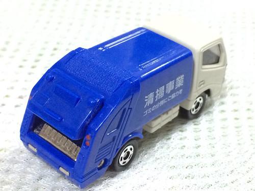 トミカ ゴミ収集車
