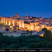 Spain - Avila - UNESCO World Heritage Site - City of Saints and Stones at Dusk - Blue Hour - Twilight - Night by © Lucie Debelkova / www.luciedebelkova.com