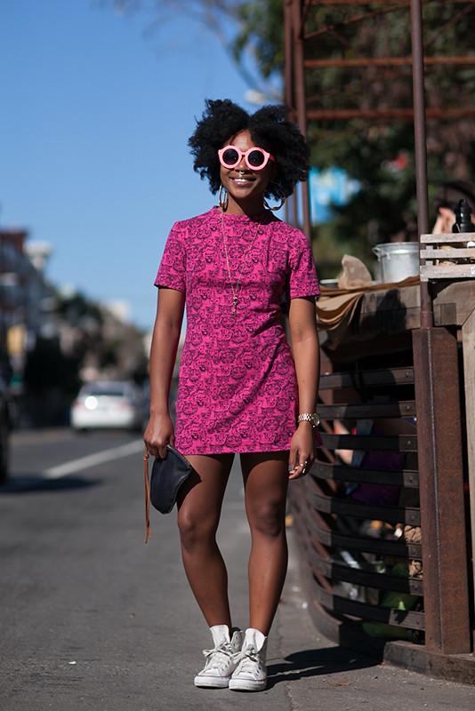 ashley_fl street style, street fashion, women, San Francisco, Valencia Street