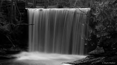 Plas Power Waterfall B&W