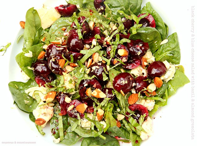 Black Cherry & Blue Cheese Salad