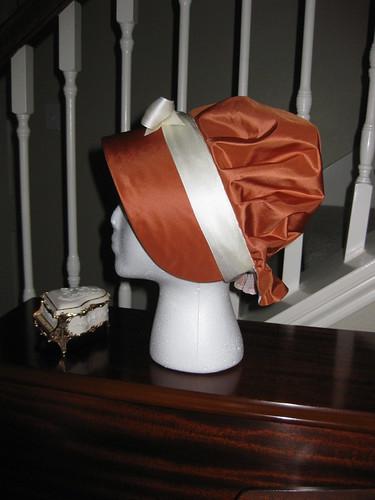 1800s Bonnet - Side