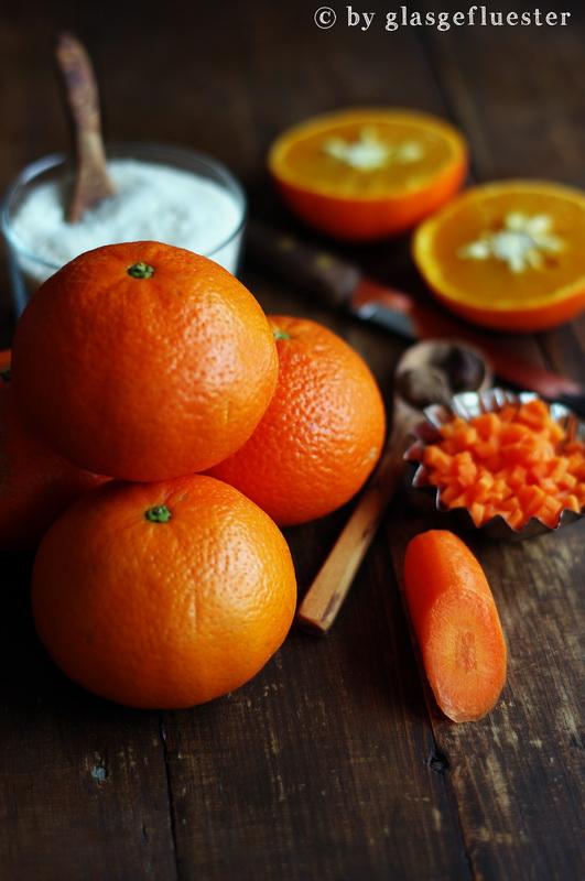 Clementine Karotte Kardamom Marmelade by Glasgeflüster 1 klein