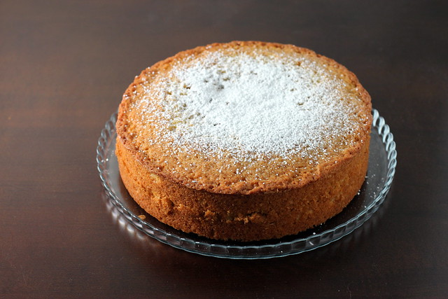 Brown Butter and Vanilla Bean Weekend Cake