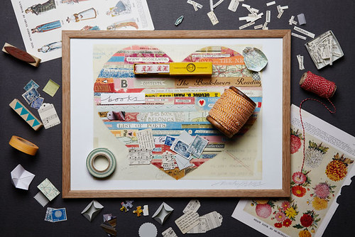Paper Collage Heart
