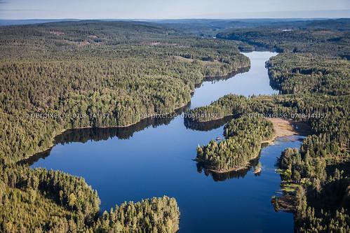 natur sverige swe västragötaland flygfoto skåpafors