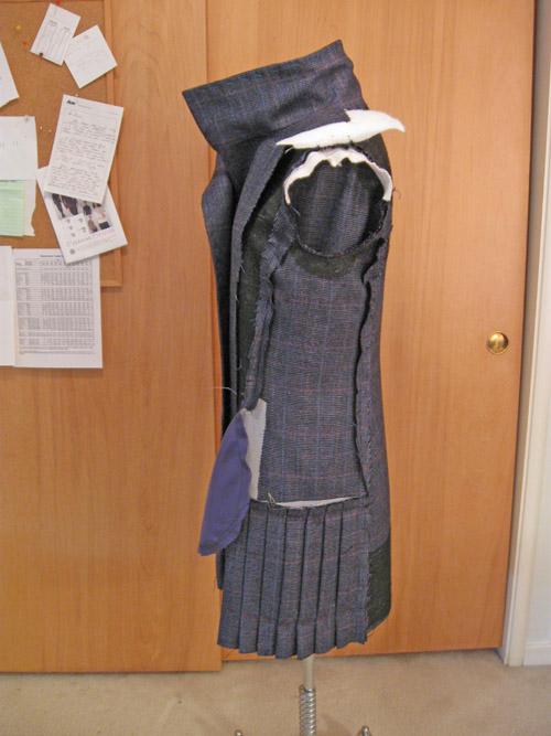 Quart coat inside view