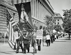 Seamen Return to DC Protesting Scab Certificates: 1939