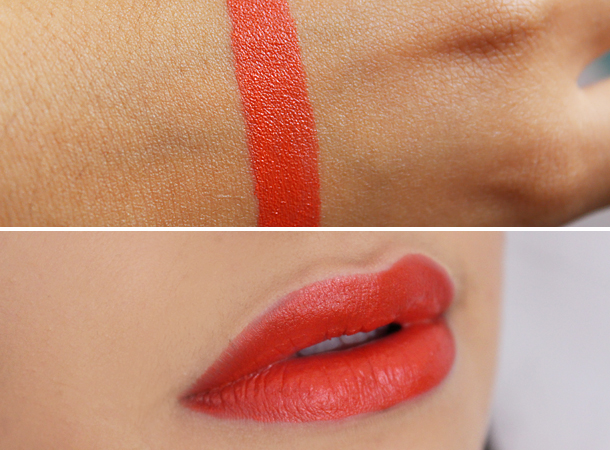 nars satin lip pencil timanfaya review swatch face nc30