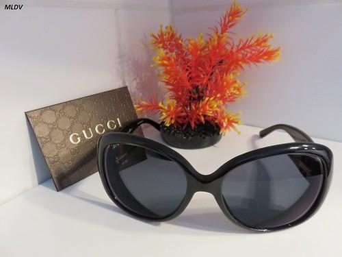 Gucci à verres polarisés gris dégradés