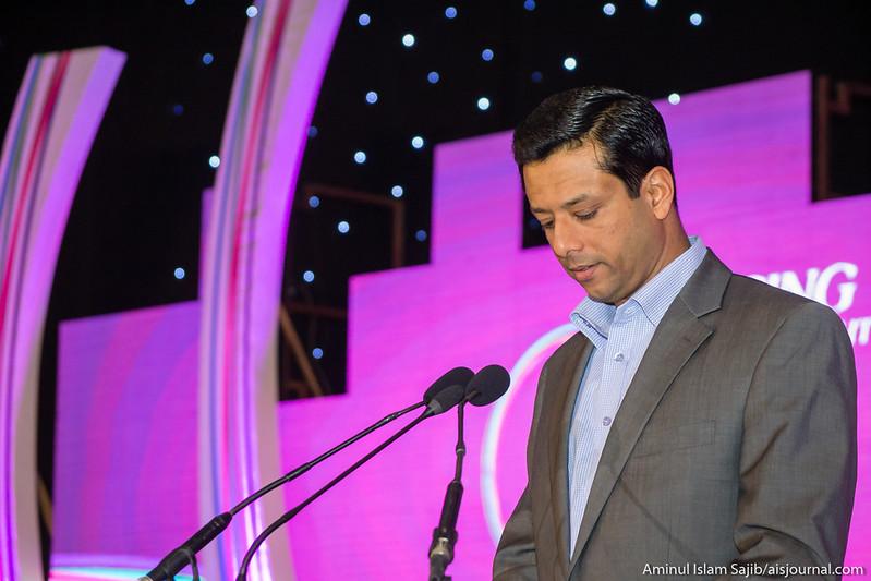 Sajeeb Wazed Joy at Digital World 2015