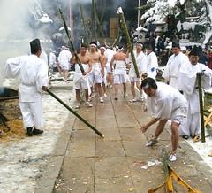 Takewari Matsuri - Japanese Bamboo Smashing Festival
