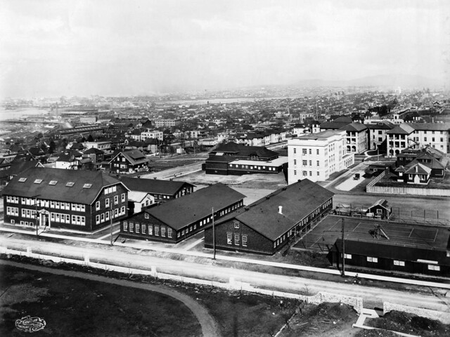 View of Fairview campus buildings 1919