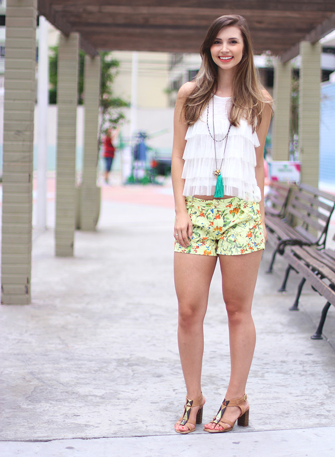 04-look do dia shorts estampado la mandinne blog sempre glamour