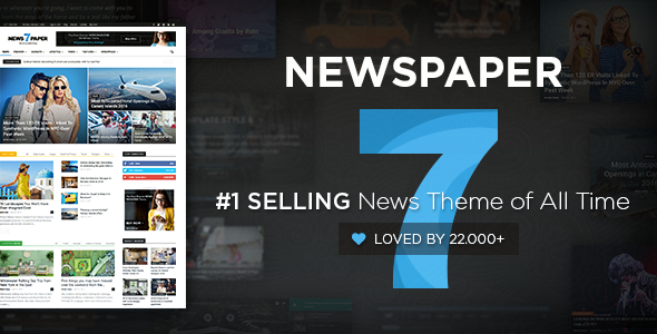 Newspaper v7.1.1 - Responsive WordPress News/Magazine
